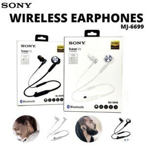 audífonos bluetooth SONY MJ-6699