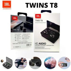 audifonos inalambricos TWINS-T8 JBL