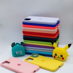 SILICONE CASE PARA IPHONE ANDROIDE